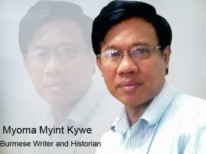 Burmese Writer and Historian Myoma Myint Kywe